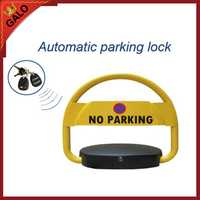 Serrure automatique de barrière d'espace de stationnement de voiture 2 télécommandes aucune borne de poste de stationnement de voitures de stationnement
