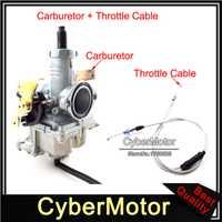 Park 30mm PZ30 carburador con Gas Cable del acelerador para 200cc 250cc pozo de la bici de la suciedad ATV Quad 4 Wheeler