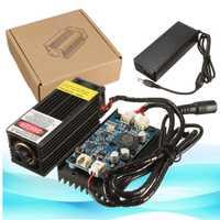 5 W/10 W/15 W cabeza láser grabado para 450nm luz azul marcado grabador con TTL de modulación DIY de marcado de Metal