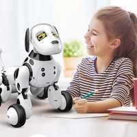 Nuevo regalo de cumpleaños RC Zoomer perro 2,4g Control remoto inalámbrico inteligente perro mascota electrónica de los niños educativos Robot de juguete juguetes