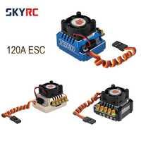 TS120 120A 2-3 s LiPo batería Sensored/Sensorless sin escobillas ESC con 6 V/3A BEC de 1/10 RC 1/12 Off-road coche 1/10, 1/8