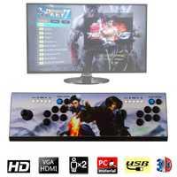 2177 HD rétro jeux 3D clé de pandore 7 Arcade Console de jeu vidéo boîte 1920x1080P Support TF carte et lecteur USB