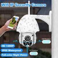 WIFI cámara PTZ al aire libre cámara IP 1080 p velocidad Domo CCTV cámaras de seguridad Cámara cámara IP WIFI Exterior 2MP IR a casa monitoreo enteramente Onvif