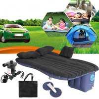 Coche Universal de colchón inflable del coche inflable cama de aire de cojín de cama de viaje al aire libre camas sofá inflable de la bomba de