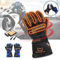 5600 mAh recargable guantes eléctricos climatizada Li batería de la motocicleta para la motocicleta snowboard esquí