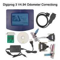 Digiprog 3 V4.94 con Cable de versión OBD Digiprog III ST01 ST04 odómetro programador Digiprog 3 V4.94 herramienta de corrección de kilometraje