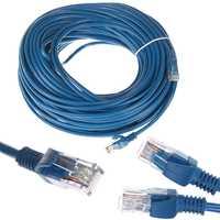 110ft Rj45 Ethernet Cables de conector de Cable de red Ethernet de Cable de Internet de la Línea Azul Rj 45 Ethernet Cat5e Cable Lan