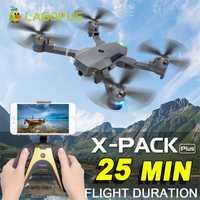 Lagopus XT-1 Plus 25 minutos de duración de vuelo 5MP FPV WIFI 1080 P Drones con cámara HD Quadcopter Drone plegable drone Dropship