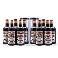 Multiplier les bouteilles 10 bouteilles noir (liquide versé) tours de magie Satge Magia Illusion Gimmick accessoires bouteille apparaissant Magica