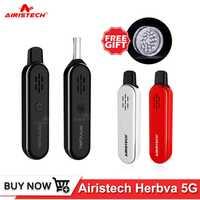 Original Airistech Herbva 5g Kit de vaporizador de hierba seca batería incorporada 0,5 mAh 1000-0.7ohm vaper kits de cigarrillos electrónicos vape pen