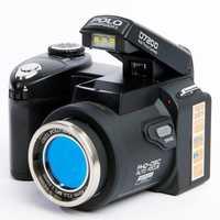 Polo Sharpshots/PROTAX D7200 cámara Digital 33MP 1080 P de enfoque automático SLR cámara de vídeo HD 24X + lente teleobjetivo de ángulo ancho