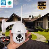 Cámara cámara IP WIFI PTZ al aire libre velocidad 360 CCTV Cámara Wi-Fi impermeable de 1080 P de vigilancia de seguridad Camara ipcam exterior vmeyesuper de