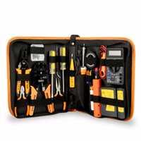 Jm-p15 17 unids Mantenimiento Electrónico Herramientas set soldador metal spudger Alicates pinzas multímetro digital reparación Herramientas Kit