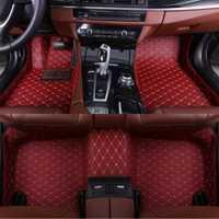 Tapis de sol de voiture pour Mercedes Benz GLA CLA GLK GLC G ML GLE GL GLS A B C E S W204 W205 W211 W212 W221 W222 W176 revêtements