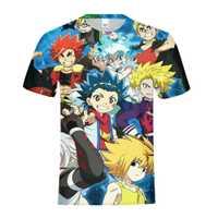 Kai Watch Land es juego de niños de impresión de Anime camiseta niños niñas Modis de manga corta Tops Tees camisa ropa de verano del bebé camiseta