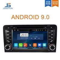 JDASTON Octa núcleos Android 9,0 4G + 32G reproductor de DVD de coche para AUDI A6 S6 RS6 1997- 2004 coche Multimedia GPS estéreo 2 Din coche Radio WIFI