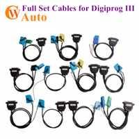 Conjunto completo de Cable para Digiprog III Digiprog 3 odómetro programador