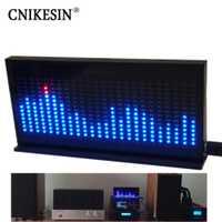 CNIKESIN diy kit de AS1424 Profesional de Música visualizador de ESPECTRO DE NIVEL LED indicando DIY kit electrónico MIC micrófono sensación