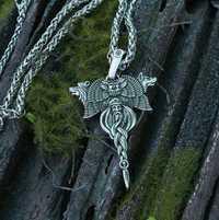 Lanseis 10 piezas Kolovrat colgante eslavo símbolo viking Taller de amuletos