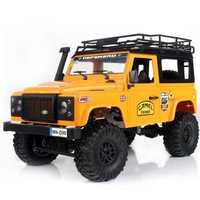 Modelo MN D90 1:12 escala RC oruga coche 2,4G cuatro ruedas coche rc juguete ensamblado vehículo completo MN-90K MN-91K defensor picku