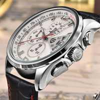 Reloj PAGANI diseño de lujo de marca de cuarzo movimiento militar relojes de pulsera de cuero reloj de pulsera reloj masculino con caja de regalo