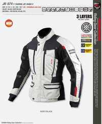Nueva motocicleta chaqueta de caza JK-574 año gira chaqueta RAMA II chaqueta de invierno