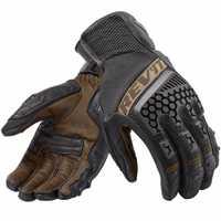 Nouveau 2018 Revit Sable 3 moto de trial aventure tournée ventilé gants Véritable gants de moto en cuir