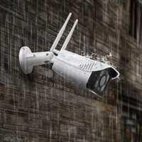 Fuers al aire libre cámara de seguridad Cloud Cam IP inalámbrica resolución de 1080 p impermeable noche visión, seguridad, sistema de vigilancia