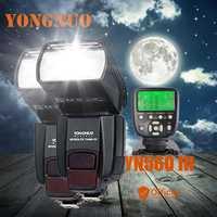 2 * Yongnuo YN560 III 2.4g manual inalámbrico flash speedlite + TRANSMISOR para Canon EOS 1Ds 5D 1D mark II N 50D 60D 77D 7D