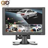 600 pulgadas 1024*10,1 píxeles HDMI VGA AV Monitor de coche con nuevo diseño de pantalla Delgado revestimiento UV, adecuado para monitoreo, ETC.