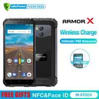 Ulefone armadura X impermeable IP68 Smartphone 5,5