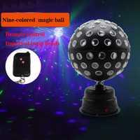 Disco lámpara bola disco DMX luces de cabeza Dj luz dmx controlador láser led par dj efecto de iluminación led barra de luces de escenario