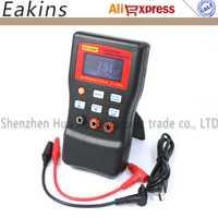 Envío gratuito MLC500 de alta precisión lineal LC medidor inductor y condensador de Metro 1% precisión 500 kHz prueba conectar la PC almacenar