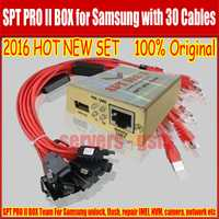 100% Original nuevo Subcomité PRO II caja de herramienta profesional para Samsung N7100... I9300... I9500 S5 desbloquear Flash reparación IMEI... ect