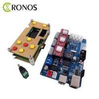 Controlador de trabajo sin conexión GRBL pantalla LCD + Tablero de control de 3 ejes para máquina de grabado láser enrutador de madera envío gratis