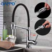GAPPO grifo de cocina con agua filtrada fregadero de cocina grifo agua fregadero crane grifos agua mezclador crane torneira cozinha
