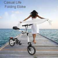 Hanbright plegable de Asisted bicicleta auxiliar bicicleta eléctrica de 12 pulgadas de 30-60 km kilometraje ebike