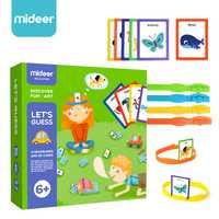 Es que los niños rompecabezas interactivo de juegos cognitivo tarjeta fiesta de juguetes gussing juego para niños divertido arte pla