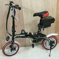 ¡Envío gratis! Mini bicicleta eléctrica plegable de 14 pulgadas, bicicleta eléctrica de 36 V 20 km 30 con batería de 36 V 12Ah, bicicleta Ebike ultraligera