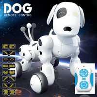 RC Robot inteligente perro de juguete inteligente perro niños juguetes animales lindos RC Robot inteligente juguetes de control remoto