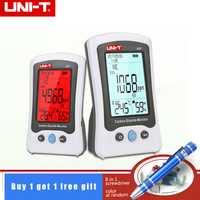 1 piezas UNI-T A37 Digital dióxido de carbono Detector de control de la calidad del aire de CO2 de detección de 400 ~ 5000PPM para casa y la batería