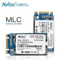 Netac M.2 2242 MLC SSD Hard Drive 240 GB 120 GB interno de unidad de estado sólido N5N M2 SSD 240 GB 120 GB de disco para ordenador portátil