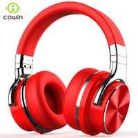 Cowin E7-PRO ANC auriculares Bluetooth inalámbrico activa de ruido cancelación de Auriculares auriculares con micrófono para teléfonos