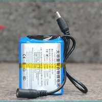 18650 12 V batería de litio polímero buscador de estrella energía móvil al aire libre gran capacidad 2/2. 5/3/5/6AH cargador