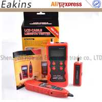 Envío libre nueva versión inglés Longitud del Cable Tester perseguidor del alambre del Cable del escáner Breakpoint Tester para RJ45/RJ11/BNC /USB NF-868