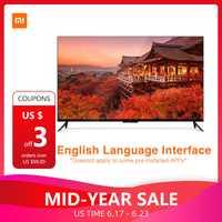 Xiaomi TV 4 55 pulgadas 4 K Smart Ultra delgado TV con montado en la pared de escritorio y Ultra-estrecho marco de Metal 2 GB 8 GB Smart TV