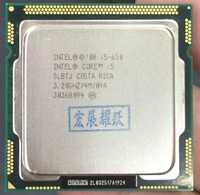 La computadora de la PC i5-650 Intel Core i5 650 procesador (4 M Cache 3,20 GHz) CPU LGA 1156 DE TRABAJO DE 100% adecuadamente escritorio procesador
