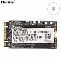 Zheino M.2 2242 SATA 256GB SSD NGFF disco duro interno de estado sólido para el ordenador portátil de escritorio