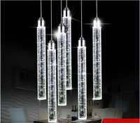 Led colgante luces moderno minimalista tres personalidad creativa comedor colgando habitación colgante lámparas ZSP183151