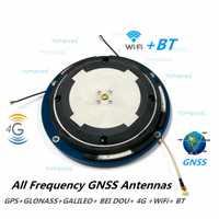 GPS/Glonass/GALILEO/Beidou/4g/WIFI/BT antena, alta Precisión CORS RTK, GNSS receptor antena personalización OEM ODM